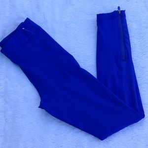 Fabletics High-Waisted Lapis Shine Leggings. XS